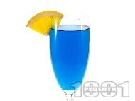 Коктейл Blue Fizz